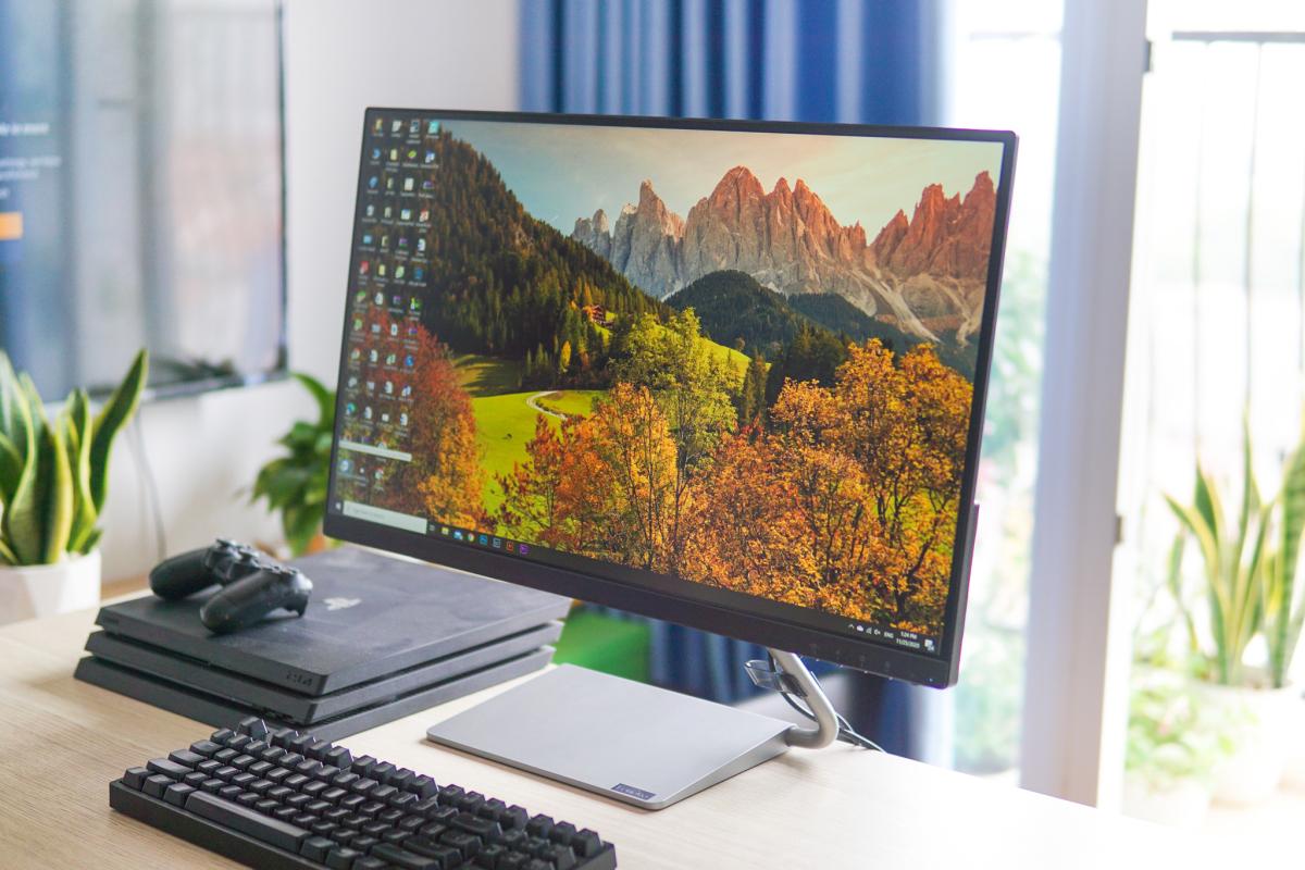 Màn hình máy tính tích hợp loa giá 7 triệu đồng - VnExpress Số hóa