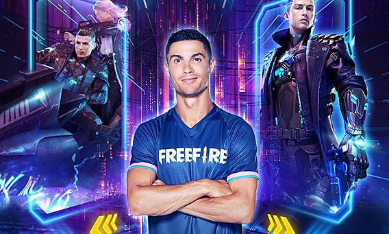 Cristiano Ronaldo hợp tác với game Free Fire