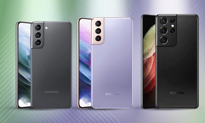 Cấu hình bộ ba Samsung Galaxy S21
