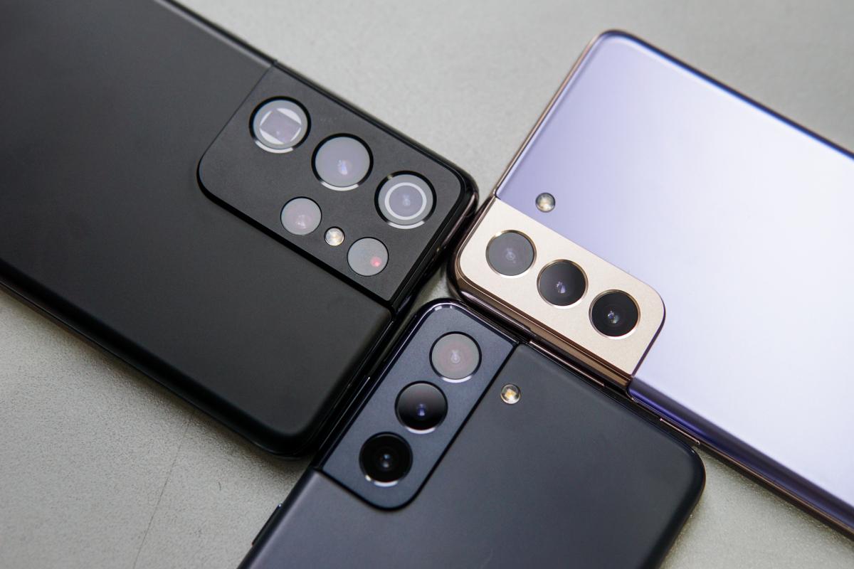 Bộ ba Galaxy S21 đọ dáng