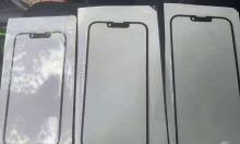 iPhone 13 lộ ảnh mặt kính