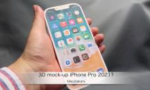 iPhone Pro 2021 lộ mô hình