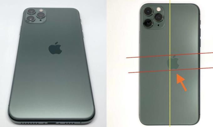 iPhone 11 Pro lệch logo có giá gần 3.000 USD