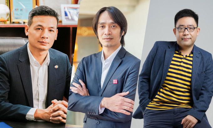 Ba lãnh đạo công nghệ nổi bật ở Việt Nam