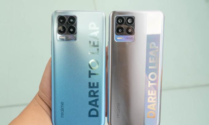 Realme 8 series có giá từ 7,29 triệu đồng
