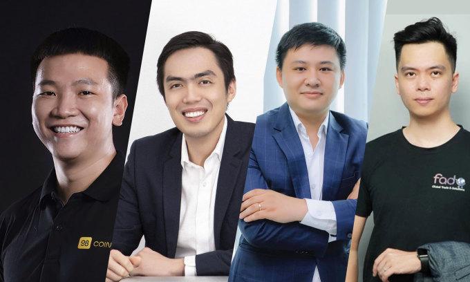 4 lãnh đạo trẻ nổi bật trong lĩnh vực blockchain