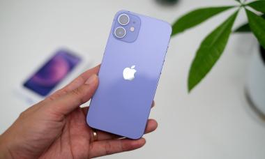 iPhone 12 màu tím về Việt Nam