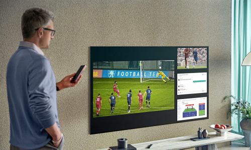 Tính năng đa màn hình giúp xem nhiều trận đấu cùng lúc