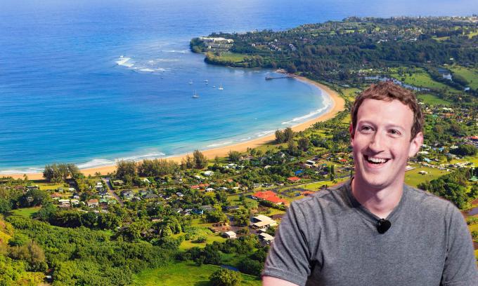 Khối bất động sản 320 triệu USD của Mark Zuckerberg