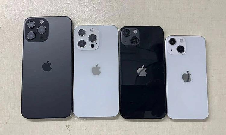 Loạt iPhone 13 lộ mô hình