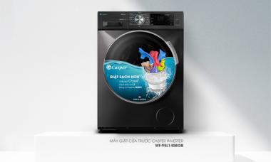 Casper giành giải máy giặt cửa ngang được yêu thích nhất
