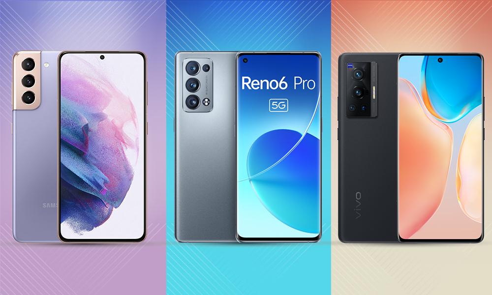 Reno6 Pro đọ cấu hình cùng Galaxy S21 và X70 Pro